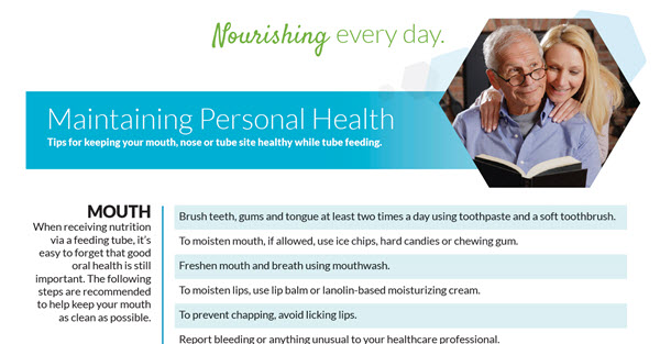 Guide for Maintaining Personal Health