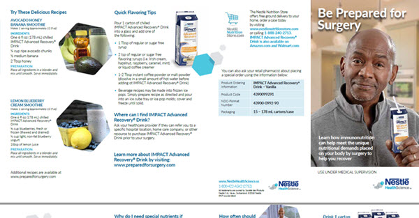 IMPACT Advanced Recovery® Patient Brochure (Eng)