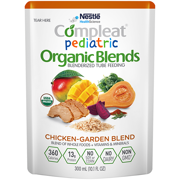 Compleat® Pediatric Organic Blends Chicken-Garden