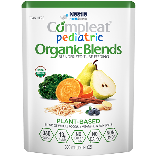 Compleat® Pediatric Organic Blends Plant-Based