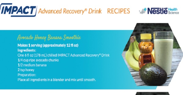 Impact Advanced Recovery® Patient Recipes