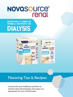 NOVASOURCE Renal Flavoring Tips & Recipes