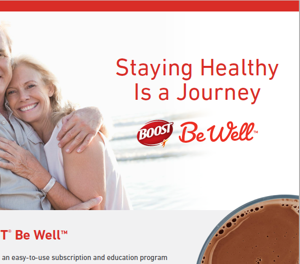 BOOST® Be Well™ Patient  Detail Aid