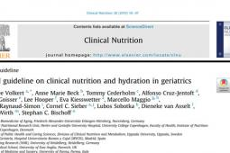 ESPEN Guidelines Clinical Nutrition and Hydration in Geriatrics