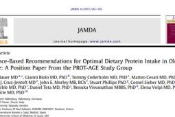 Optimal Protein Intake for Older Adults (PROT-AGE Position Paper)