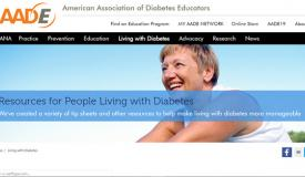 AADE Resources for People Living with Diabetes