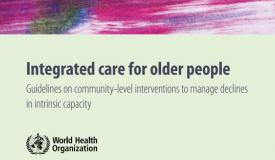 WHO Guidelines - Integrated Care for Older Adults (ICOPE)